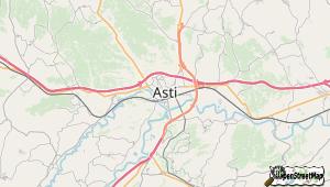 Asti und Umgebung