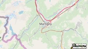 Martigny und Umgebung