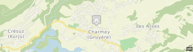 Umland des Hotel Cailler Charmey