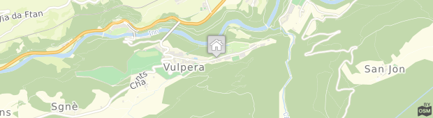 Umland des Hotel Villa Maria Vulpera