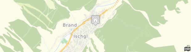 Umland des Ischgl Suite Holiday Luxury Apartments