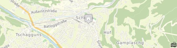 Umland des Lowen Hotel Schruns