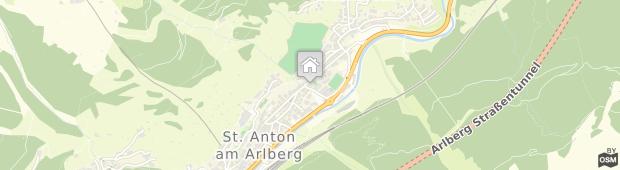 Umland des Hotel Arlberg