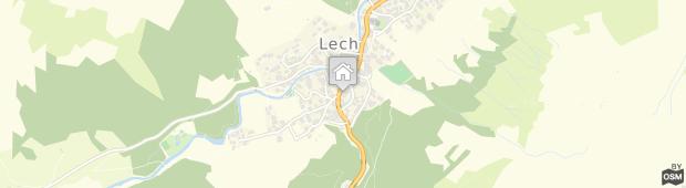Umland des Hotel Gotthard Lech am Arlberg