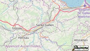 St Gallen und Umgebung