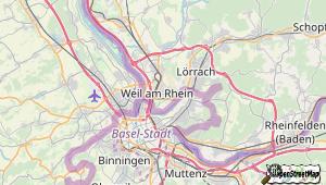Weil am Rhein und Umgebung