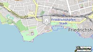 Graf-Zeppelin-Haus Friedrichshafen und Umgebung