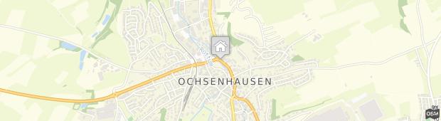 Umland des Hotel Pension Rottuminsel Ochsenhausen