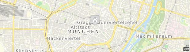 Umland des Platzl Hotel in Münchens historischer Altstadt