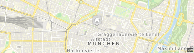 Umland des Hotel Bayerischer Hof München