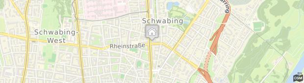 Umland des Fleming's Hotel München-Schwabing