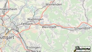 Weinstadt und Umgebung