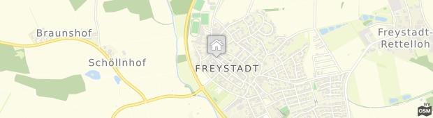 Umland des Gasthof-Hotel Pietsch Freystadt