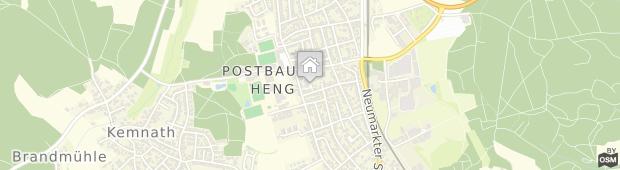 Umland des Hotel Postbauer-Heng