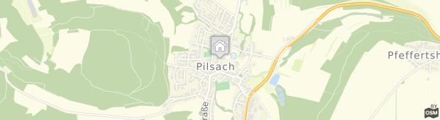 Umland des Hotel Gasthof Am Schloss Pilsach