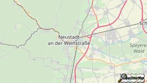 Neustadt/Weinstrasse und Umgebung