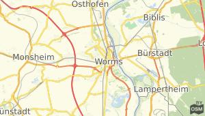 Worms und Umgebung