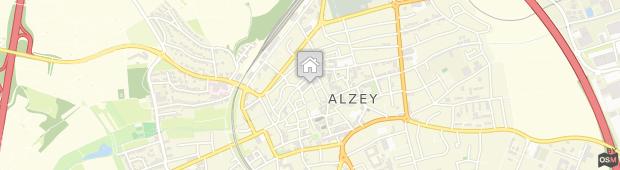 Umland des Weinhotel Kaisergarten Alzey