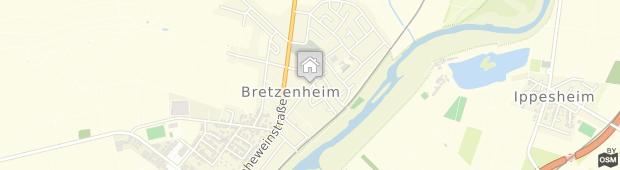 Umland des Hotel Grüner Baum Bretzenheim