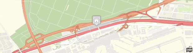 Umland des Hilton Garden Inn Frankfurt Airport
