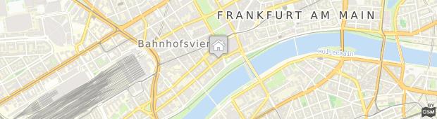 Umland des Adina Apartment Hotel Frankfurt Neue Oper