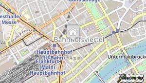Mercure Hotel Kaiserhof Frankfurt City Center und Umgebung