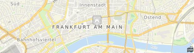 Umland des Steigenberger Frankfurter Hof