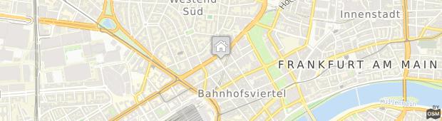 Umland des Holiday Inn Frankfurt - Alte Oper