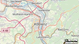 Koblenz am Rhein und Umgebung