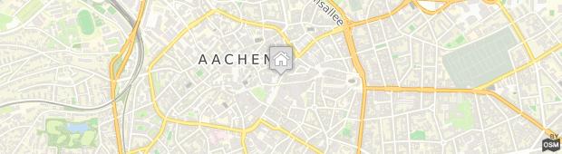 Umland des Mercure Hotel Aachen am Dom
