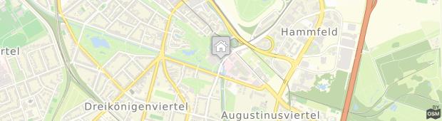 Umland des Dorint Kongresshotel Düsseldorf/Neuss