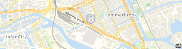 Umland des Mercure Hotel Hamburg City