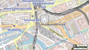 A&O Hamburg Hauptbahnhof, Hostel und Umgebung