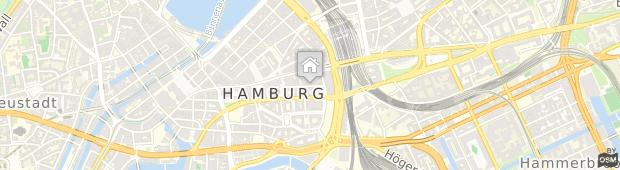 Umland des Hotel Park Hyatt Hamburg