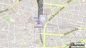 Intercityhotel Hamburg Altona und Umgebung