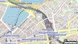Intercityhotel Hamburg Hauptbahnhof und Umgebung