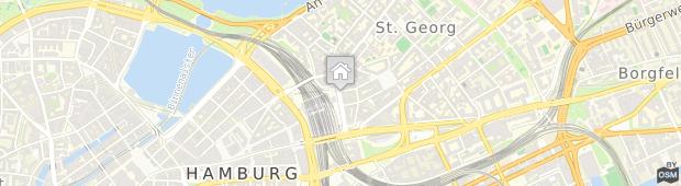 Umland des Hotel Europäischer Hof Hamburg