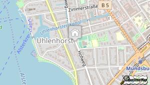 Aspria Uhlenhorst und Umgebung