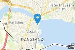 Geographische Lage Tagungshotel Steigenberger Inselhotel Konstanz