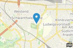 Geographische Lage Veranstaltungsstätte Alte Kongresshalle