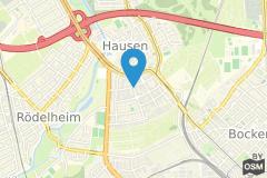 Geographische Lage Tagungshotel Fleming´s Conference Hotel Frankfurt